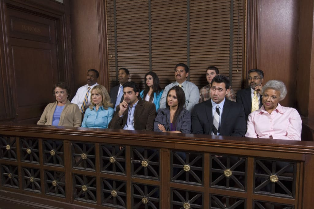 a group of jurors selected by jury selection